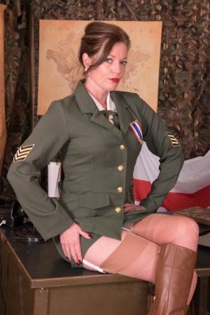 Sexy Military MILF
