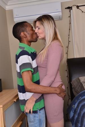 Sexy Interracial MILF