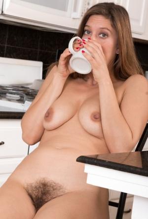 Sexy MILF In Kitchen