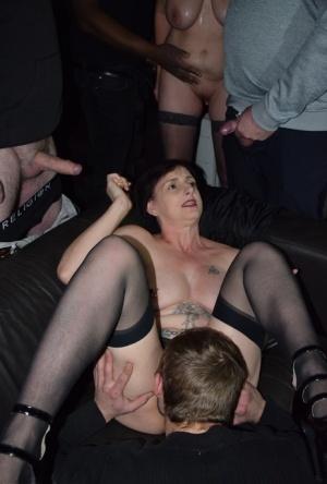 Sexy MILF Orgy