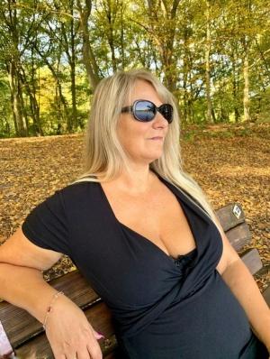 Sexy MILF Outdoors