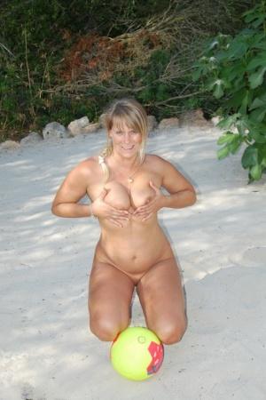 Sexy MILF Beach