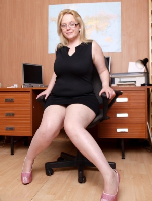 Sexy MILF Secretary